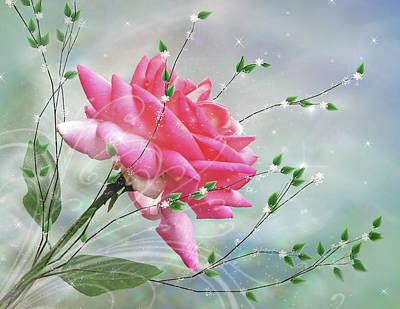 Fantasy Rose Poster