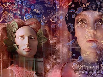 fantasy women art - Eleusis Poster