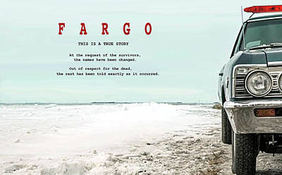 Fargo, This Is A True Story, Art Poster Poster by Thomas Pollart