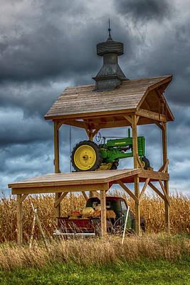 Farm Art Poster by Paul Freidlund