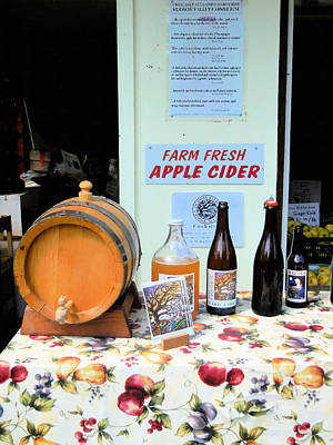 Farm Fresh Apple Cider 1 Poster by Lanjee Chee