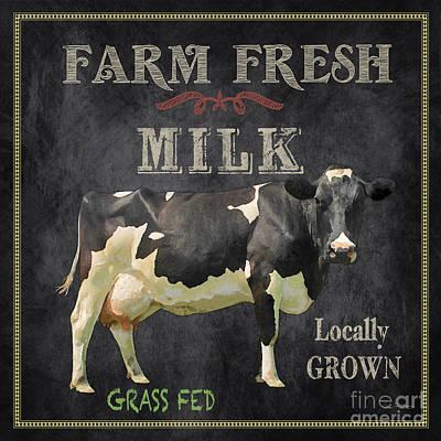 Farm Fresh-jp2635 Poster by Jean Plout