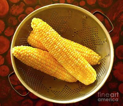 Farm Fresh Sweet Corn Poster