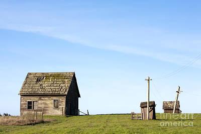 Farm House, Mendoncino, California Poster by Paul Edmondson