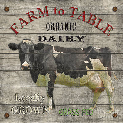 Farm To Table Dairy-jp2629 Poster by Jean Plout