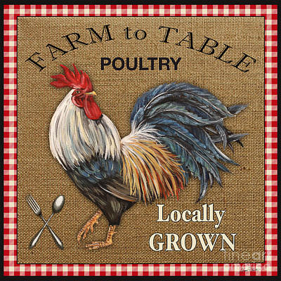 Farm To Table-jp2390 Poster by Jean Plout