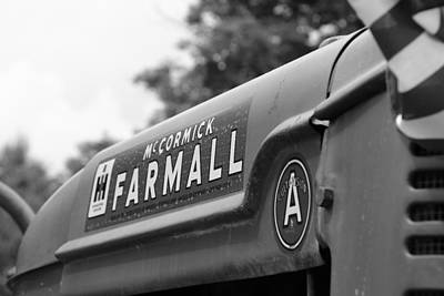 Poster featuring the photograph Farmall by Rick Morgan