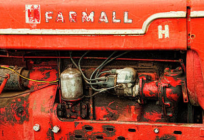 Farmall Tractor - Old Reliable Poster by Mitch Spence
