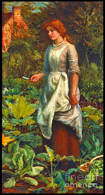 Farmers Daughter 1881 Poster by Padre Art
