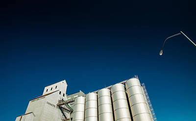 Farmers Grain Exchange Poster by Todd Klassy
