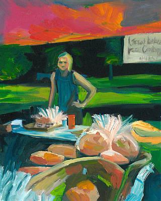 Farmer's Market Bakery Poster