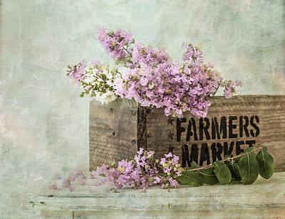 Farmers Market Poster by Kim Hojnacki