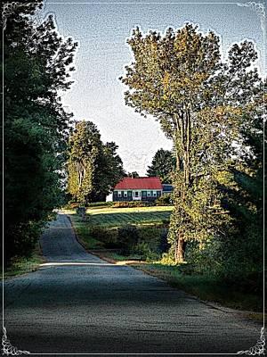 Farmhouse Poster by Joy Nichols