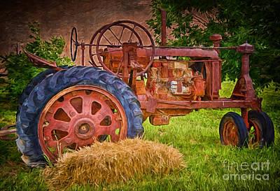Farming In Hanksville Utah Poster by Priscilla Burgers