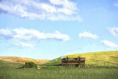 Farming In Washington II Poster