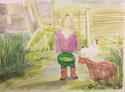 Farm's Life  Poster by Annie Poitras