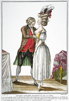 Fashion: French, 1778 Poster