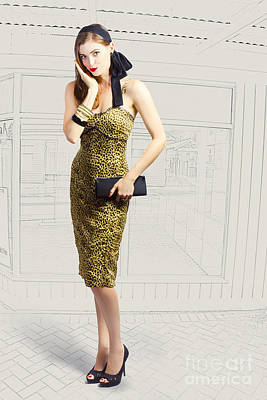 Fashion Photo Illustration Poster by Jorgo Photography - Wall Art Gallery