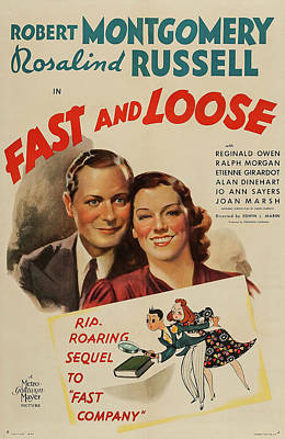 Fast And Loose 1939 Poster