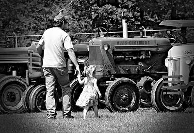 Poster featuring the photograph Father/daughter Day by Rick Morgan