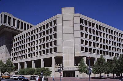 Fbi Headquarters Poster