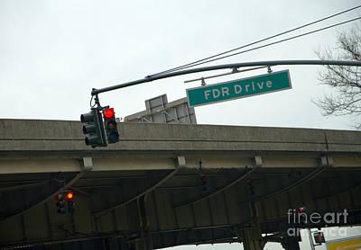 Fdr Drive Poster by Madeline Ellis