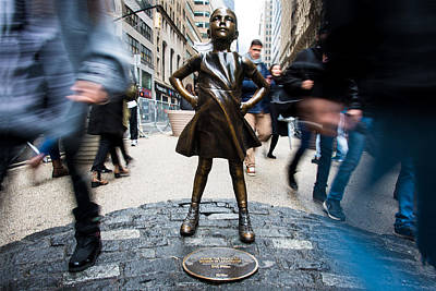 Fearless Girl Poster