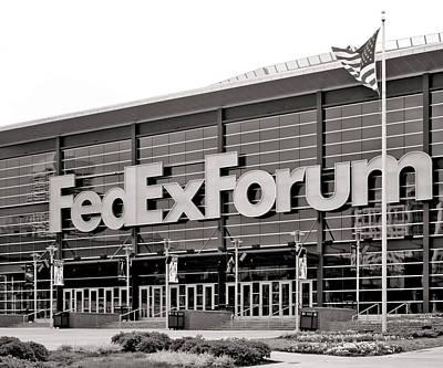 Fedex Forum Poster by Dawn Davis