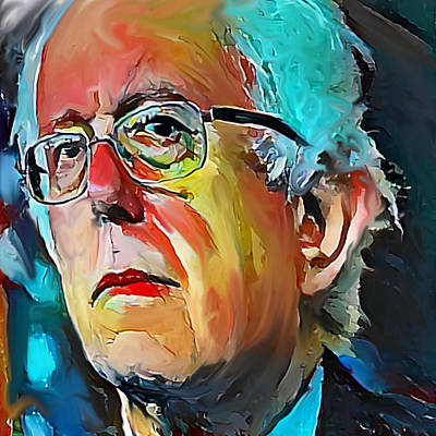 Feel The Bern Poster by Russell Pierce