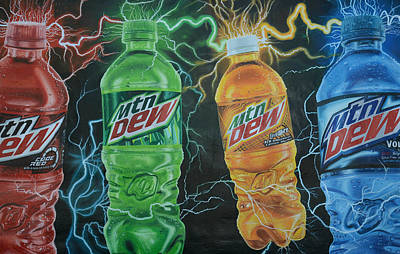 Feel The Dew Poster