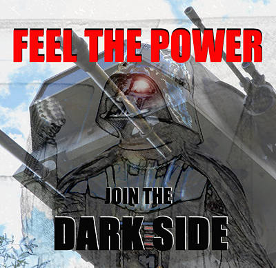 Poster featuring the digital art Feel The Power by David Lee Thompson
