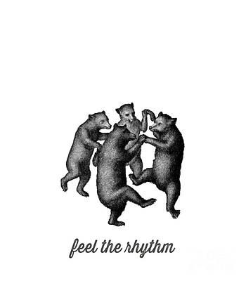 Feel The Rhythm Poster by Edward Fielding