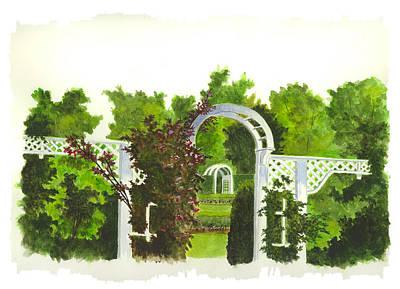 Fellows Riverside Gardens - Mill Creek Park Poster by Michael Vigliotti