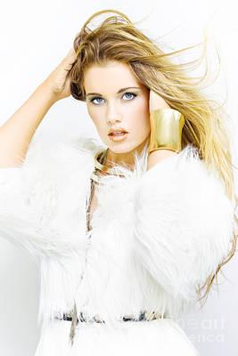 Female Fashion Model Poster