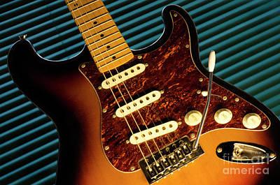 Fender Guitar Poster
