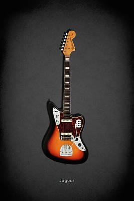 Fender Jaguar 67 Poster by Mark Rogan