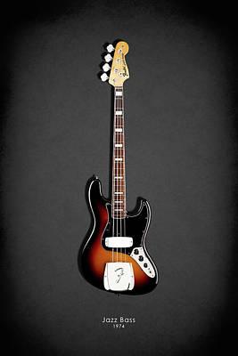 Fender Jazzbass 74 Poster
