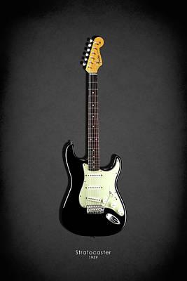 Fender Stratocaster 59 Poster by Mark Rogan