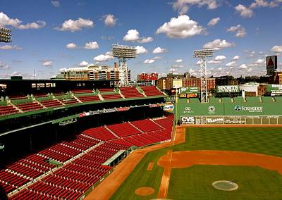 Fenway Park Iv  Fenway Park  Poster by Iconic Images Art Gallery David Pucciarelli