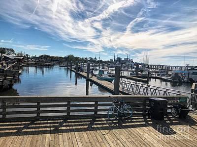 Fernandina Beach Dock Poster
