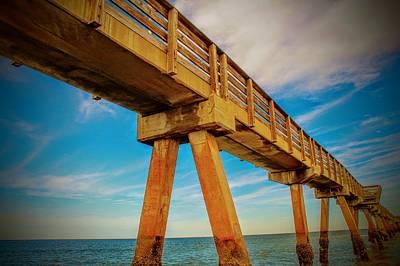 Fernandina Beach Fishing Pier Poster