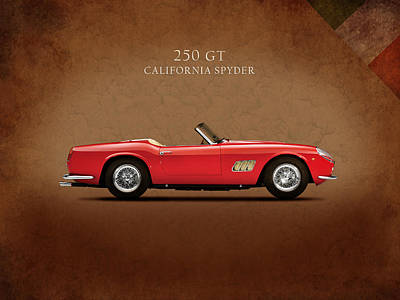 Ferrari 250 Gt 1960 Poster