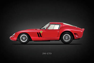 Ferrari 250 Gto Poster by Mark Rogan