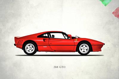Ferrari 288 Gto 1985 Poster by Mark Rogan
