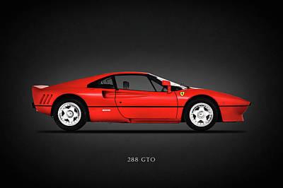 Ferrari 288 Gto Poster by Mark Rogan