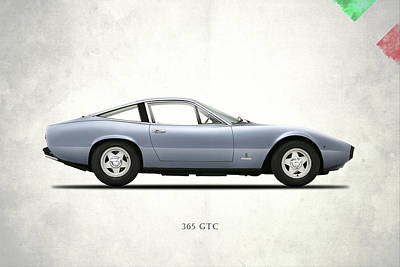 Ferrari 365 Gtc-4 Poster