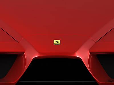 Ferrari Enzo Logo Poster