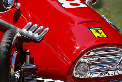 Ferrari F2 Poster by Dennis Hedberg