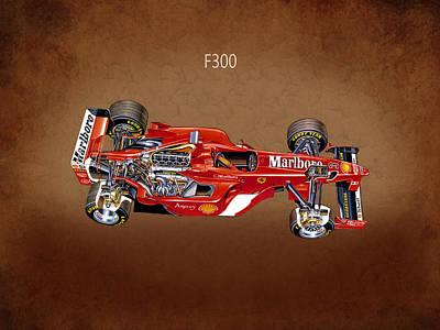 Ferrari F300 1998 Poster