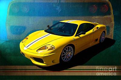 Ferrari F430 Poster